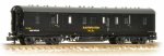 374-888 Farish 50ft. Ex-LMS PIII BG Van BR Dept. Black Electrification